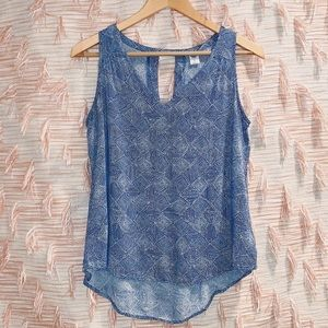 Old Navy Small Teal Tank Top Blouse